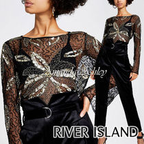 River Island Long Sleeves Party Style Shirts & Blouses