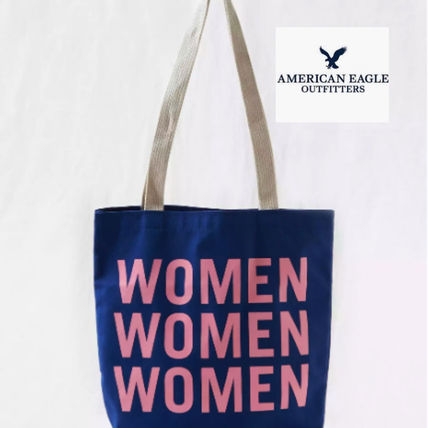 Casual Style Street Style Totes