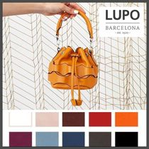 Lupo Barcelona Casual Style 2WAY Party Style Purses Office Style