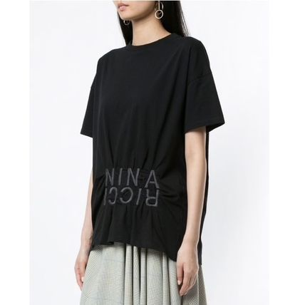 Street Style Plain Medium T-Shirts