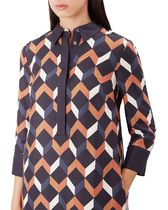 Hobbs London Other Check Patterns Casual Style Cropped Medium Party Style