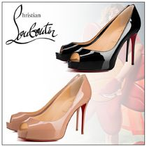 Christian Louboutin Open Toe Casual Style Party Style Office Style Elegant Style