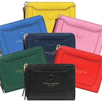 MARC JACOBS Plain Leather Coin Cases