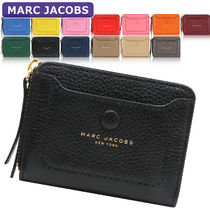 MARC JACOBS Plain Leather Long Wallet  Small Wallet Coin Cases