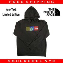 THE NORTH FACE Pullovers Unisex Sweat Street Style Long Sleeves Logo