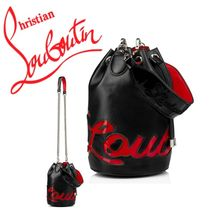 Christian Louboutin Casual Style Unisex Calfskin Party Style Purses