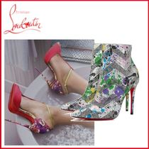 Christian Louboutin Pin Heels Party Style Elegant Style Ankle & Booties Boots
