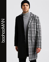 boohoo Other Check Patterns Street Style Chester Coats