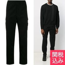 STONE ISLAND Tapered Pants Street Style Plain Cotton Tapered Pants