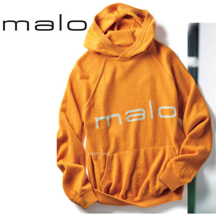 Pullovers Cashmere Long Sleeves Logo Hoodies