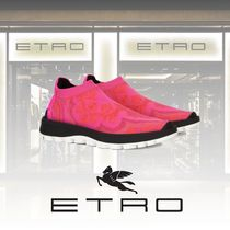 ETRO Paisley Casual Style Street Style Low-Top Sneakers