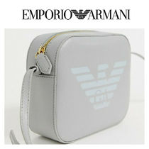 EMPORIO ARMANI Casual Style Leather Shoulder Bags