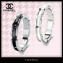 CHANEL Casual Style Unisex Blended Fabrics Street Style Party Style
