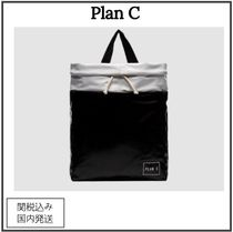 Plan C Casual Style Plain Totes