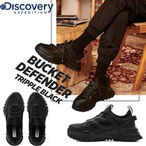 Discovery EXPEDITION Unisex Blended Fabrics Street Style Plain PVC Clothing