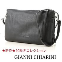 GIANNI CHIARINI 2WAY Leather Shoulder Bags