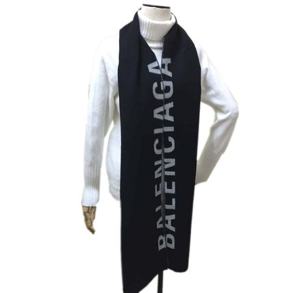 Unisex Knit & Fur Scarves