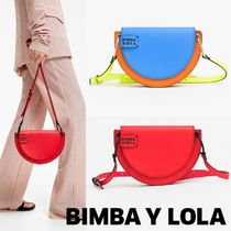 bimba & lola Casual Style Plain Leather Shoulder Bags