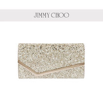 Jimmy Choo Casual Style 2WAY Chain Plain Leather Party Style