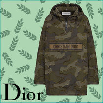 Christian Dior Camouflage Elegant Style Outerwear