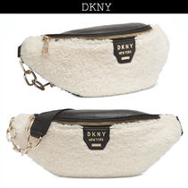 DKNY Casual Style 2WAY Plain Shoulder Bags