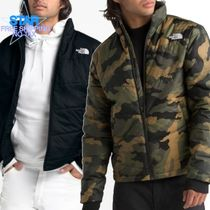 THE NORTH FACE Short Camouflage Unisex Plain Coach Jackets Coach Jackets