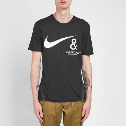 Nike More T-Shirts Street Style Collaboration Short Sleeves Co-ord Logo 5