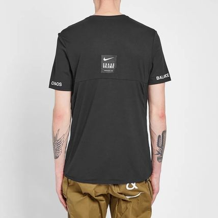 Nike More T-Shirts Street Style Collaboration Short Sleeves Co-ord Logo 6