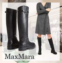 Weekend Max Mara Casual Style Plain Elegant Style Boots Boots