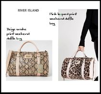 River Island Leopard Patterns Faux Fur A4 2WAY Other Animal Patterns