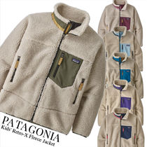 Patagonia Retro X Unisex Blended Fabrics Petit Kids Girl Outerwear