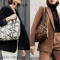 Malababa Other Animal Patterns Leather Totes