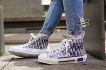 DIOR HOMME Blended Fabrics Street Style Sneakers