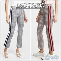 MOTHER Stripes Street Style Cropped & Capris Pants