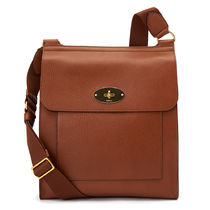 Mulberry Antony Casual Style Unisex Plain Leather Party Style Office Style