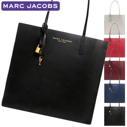 A4 Plain Leather PVC Clothing Office Style Totes