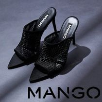 MANGO Open Toe Pin Heels Heeled Sandals