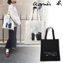 Agnes b Casual Style Totes