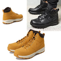Nike Plain Leather Engineer Boots