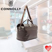 CONNOLLY Casual Style Unisex Street Style A4 3WAY Leather