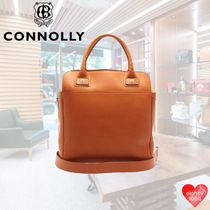 CONNOLLY Casual Style Street Style A4 Office Style Totes