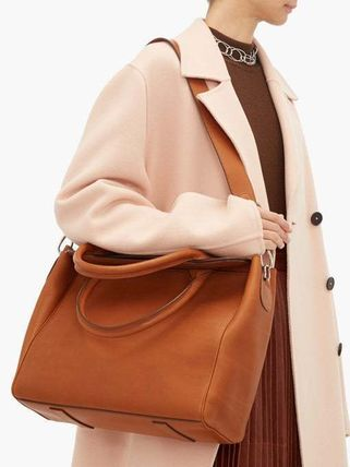 Casual Style Unisex Street Style A4 Plain Office Style