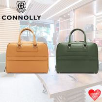 CONNOLLY Casual Style Street Style 2WAY Plain Leather Office Style