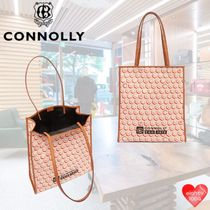 CONNOLLY Tropical Patterns Casual Style Street Style A4 2WAY