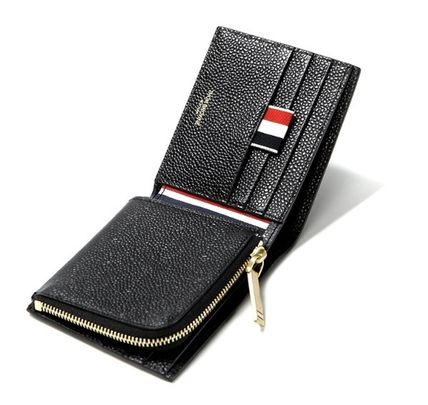 Leather Logo Folding Wallets
