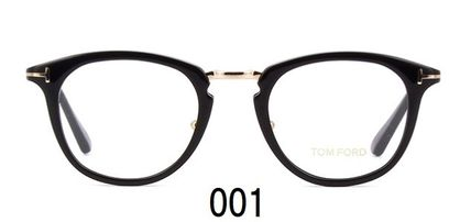 TOM FORD Round Unisex Eyeglasses