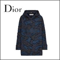 Christian Dior Camouflage Casual Style Blended Fabrics Street Style Medium
