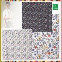 Paul Smith Flower Patterns Unisex Cotton Handkerchief