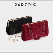 PARFOIS Casual Style Chain Party Style Elegant Style Party Bags