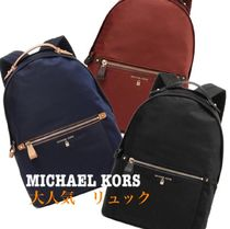 Michael Kors Casual Style Unisex Blended Fabrics Street Style A4